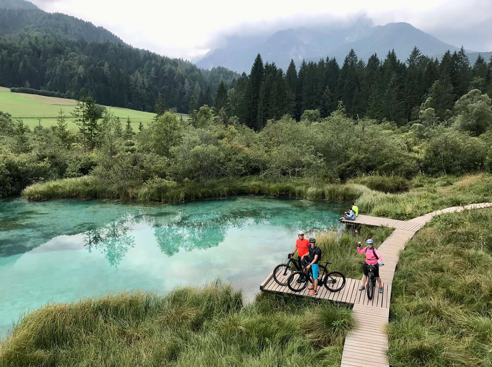 HourAway Best cycling tours in Slovenia Zelenci Natural Reserve